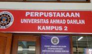 Mulai 26 Maret Perpustakaan UAD Akan Ditutup Sementara