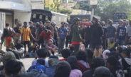 Peringati May Day, Aksi Mahasiswa Dihalangi Polisi