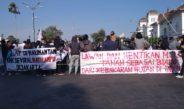 Aliansi Mahasiswa Yogyakarta Tolak Monopoli Tanah