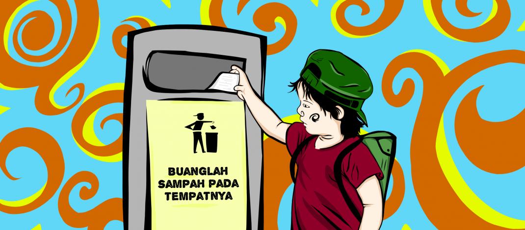 Membuang Tulisan Haryono Kapitang ke Tong Sampah